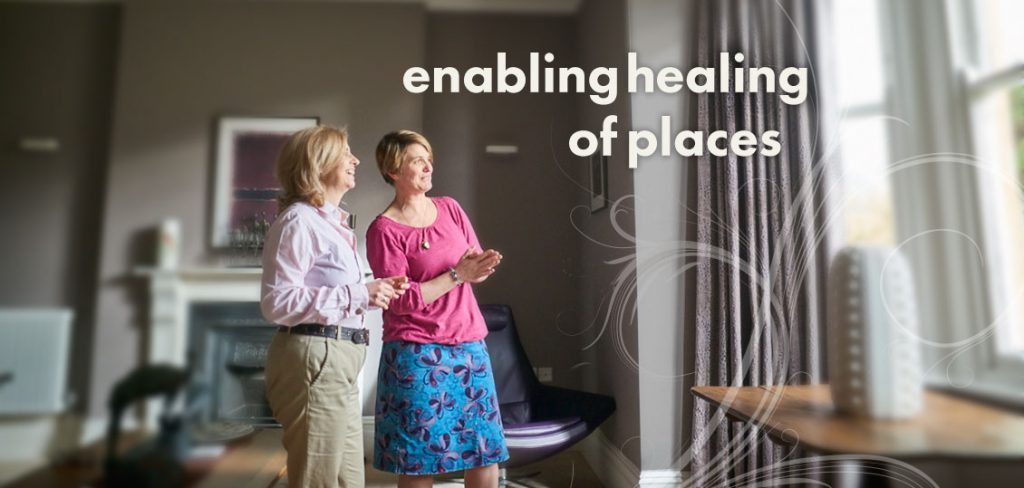 Energetic Space Clearing in Bath with Heidi